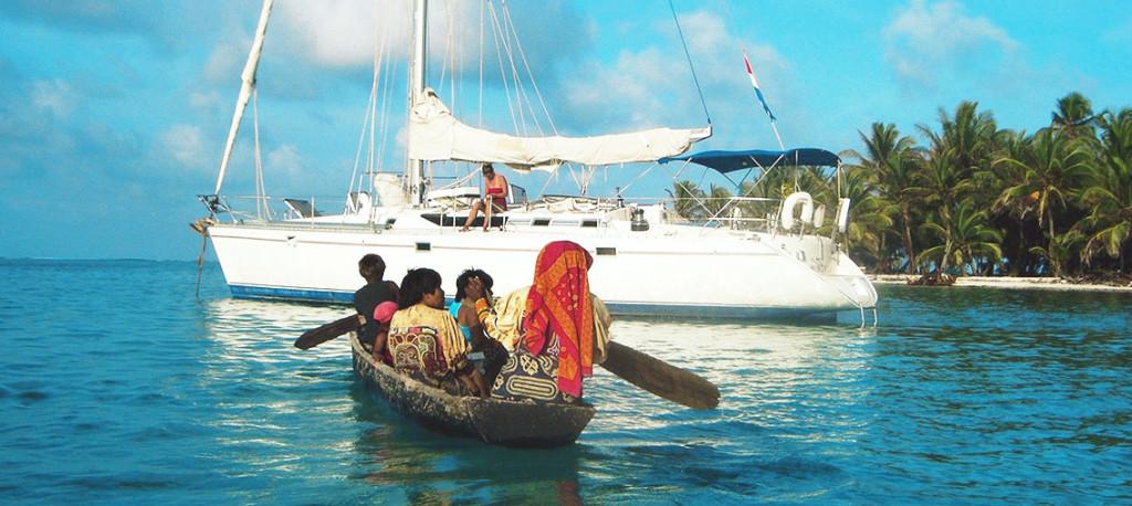 Sailing San Blas charter Kuna